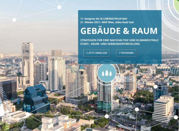 Vortrag: 21.10.2021, IG Lebenzyklus Bau, Wien